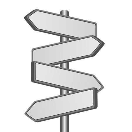 vector richting ondertekenen