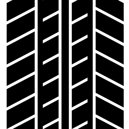 seamless trace of the tyre Stock Vector - 11486169