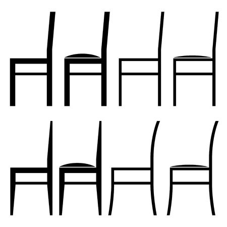 vector sillas