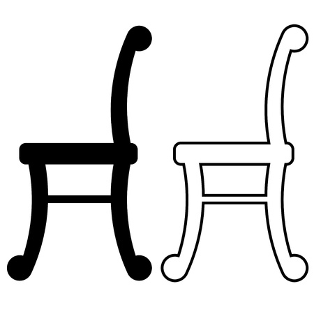 lounge chair: vector chairs