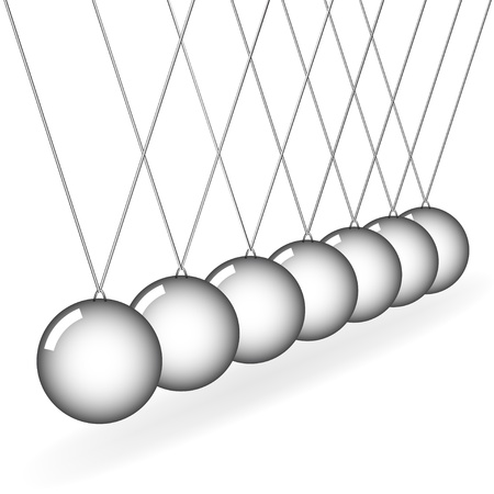 vector Newtons cradle Vector