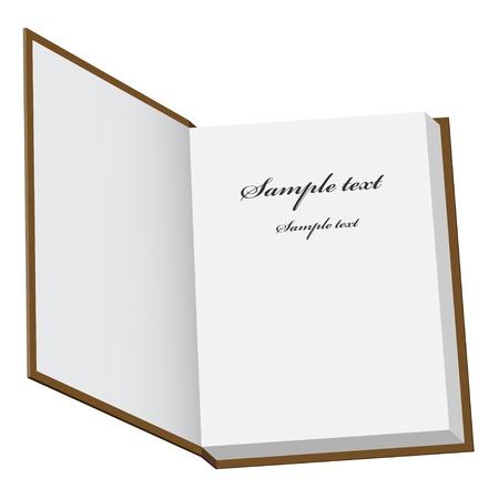 libros abiertos: vector de libro