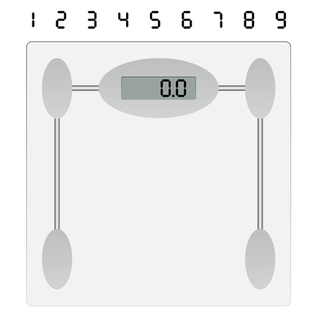 gain: vector weight scale Illustration