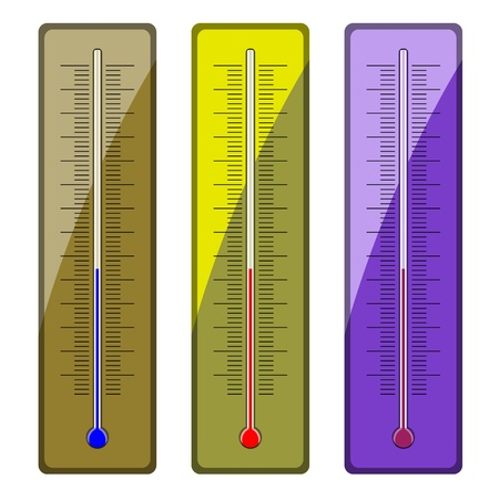 hotness: vector thermometers