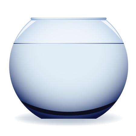 ciotola: vettoriale acquario vuoto