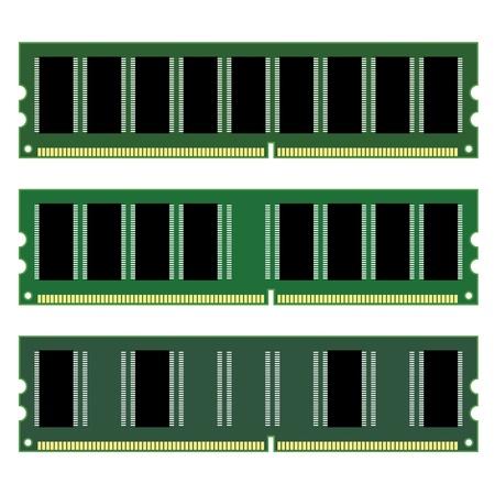 random access memory: vector dimm memory