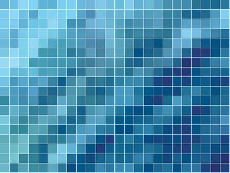 kitchen tile: vector tiled waves