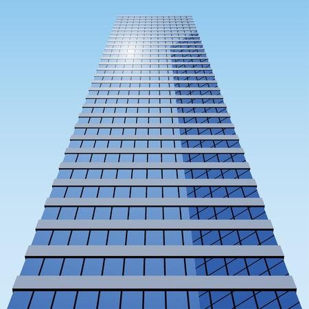 edificio corporativo: vector edificio de negocios