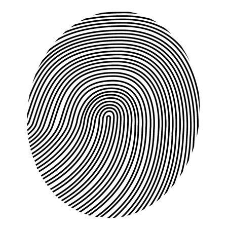 authentication: drawing vector fingerprint
