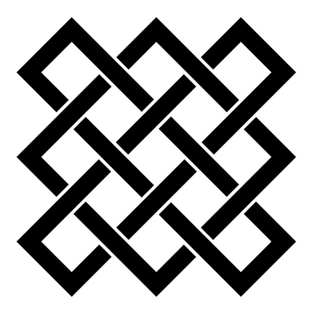 eternally: vector endless celtic knot Illustration