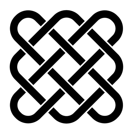 gaelic: vector endless celtic knot Illustration