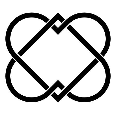 dessin coeur: vectorielle li�e coeurs
