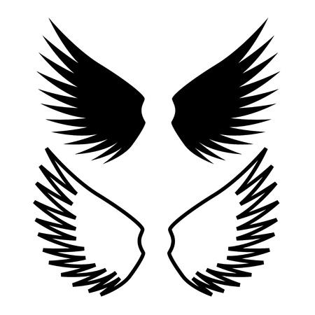 vector wings Stock Vector - 11486304