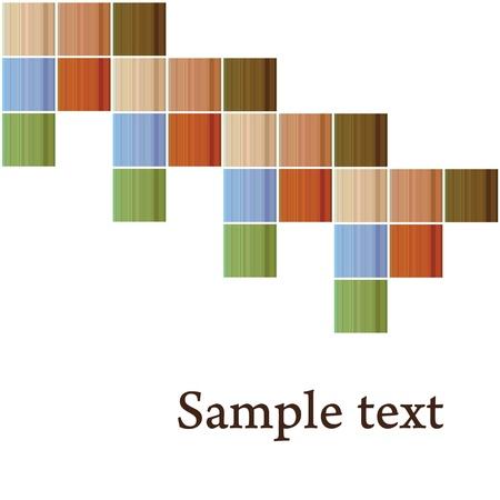 vector striped tiles Vector