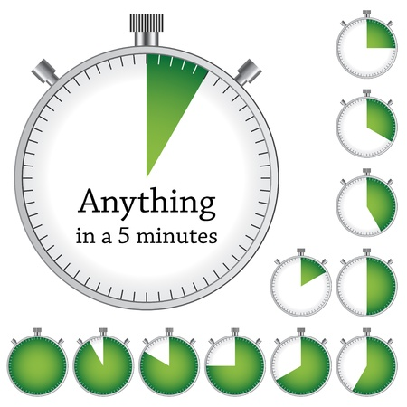 metering: Vector timer - easy change time every one minute