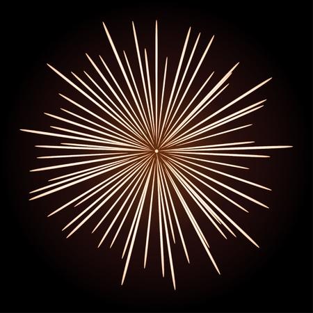 star power: vector firework