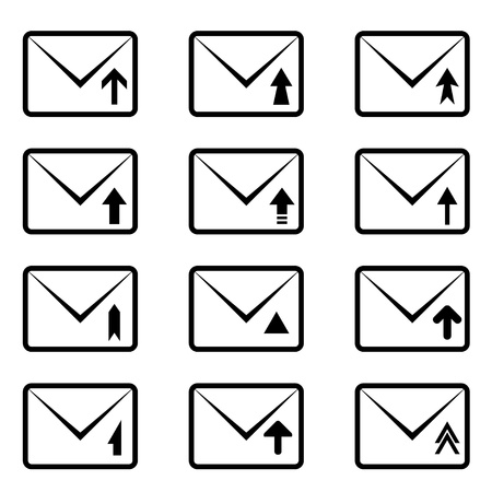 vector email signs Vector