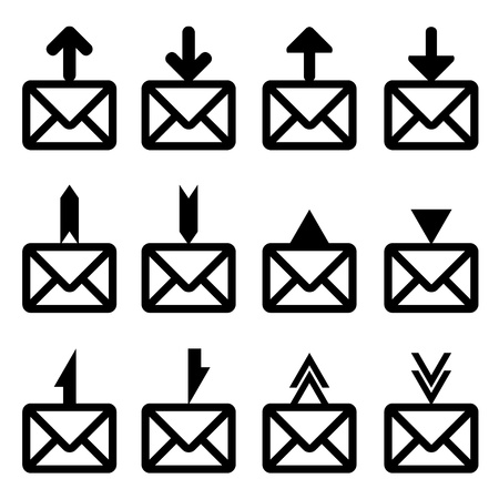 vector email signs Stock Vector - 11486283