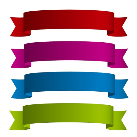 vector ribbons Vector