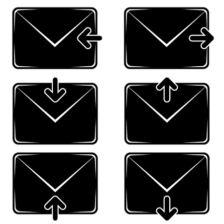 vector email signs Stock Vector - 11465699