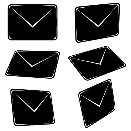 vector email signs Stock Vector - 11486319