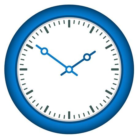uhr icon: Vektor-Ziffernblatt - easy change Zeit Illustration