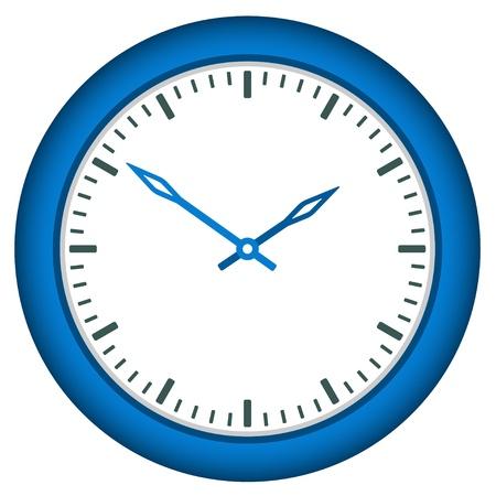 maquillaje infantil: vector de reloj - tiempo de cambio f�cil