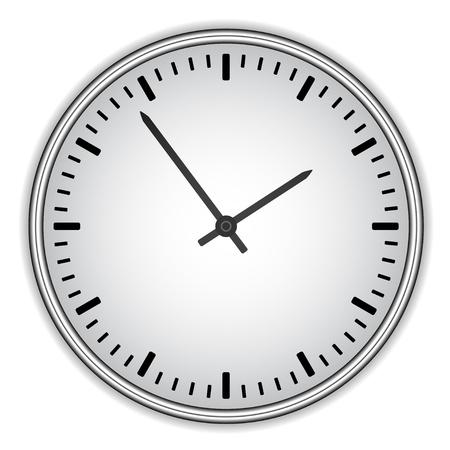 wijzerplaat: vector wijzerplaat - gemakkelijk wisseltijd