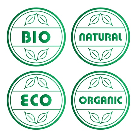 vector eco stamps Stock Vector - 11486473