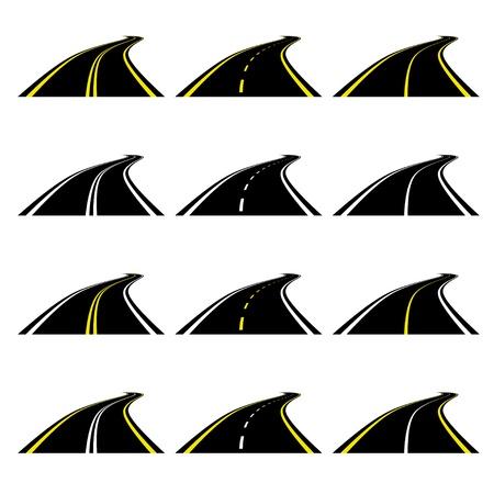 vector roads Vector