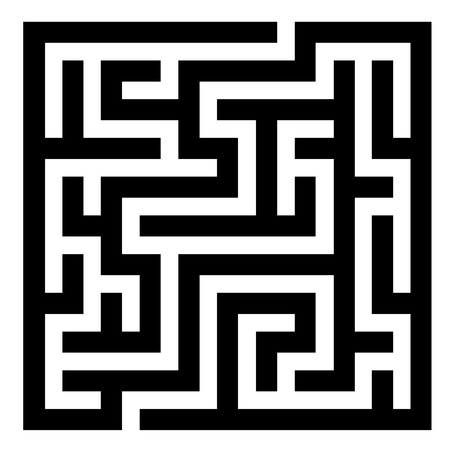 deadlock: vector maze Illustration