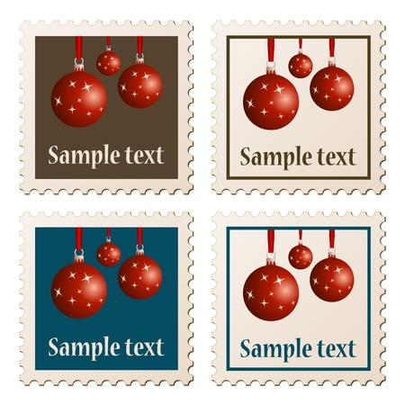 vector postage stamps Vector