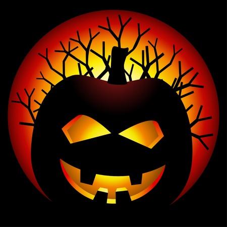 obscurity: vector halloween pumpkin Illustration