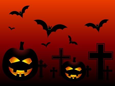 obscurity: vector halloween pumpkins