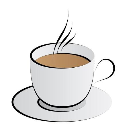 café vecteur tasse