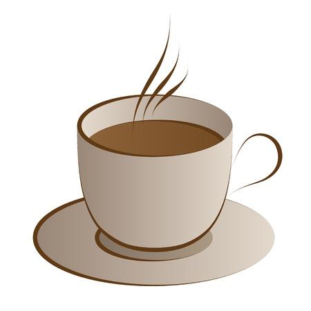 vettoriale tazza di caffè