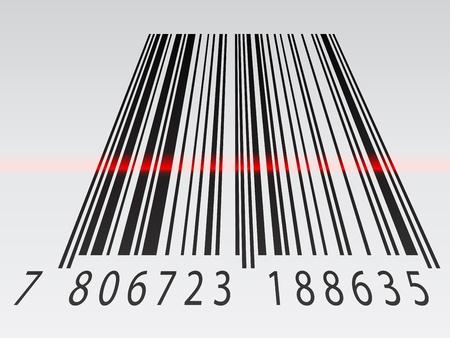 ean: vector 3d barcode