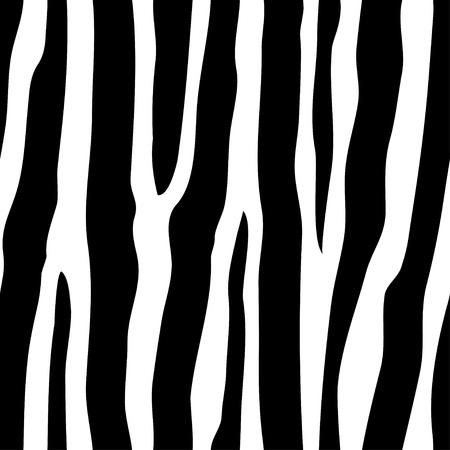 african fabric: vector seamless zebra pattern