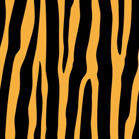 vector seamless tiger pattern Vector