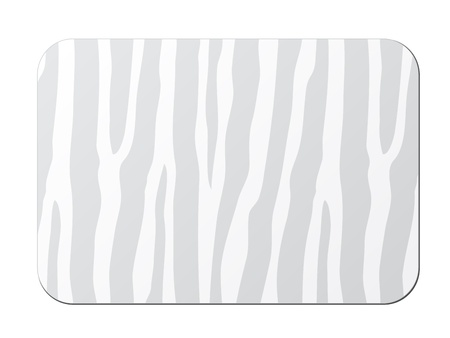 vector card with zebra pattern Vector