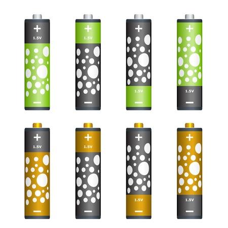 polarity: Vector batteries