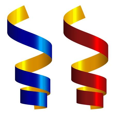 vector party streamers Vector