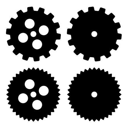 cogs and gears: vector sprockets