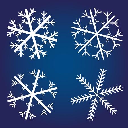 vector snowflakes Vector