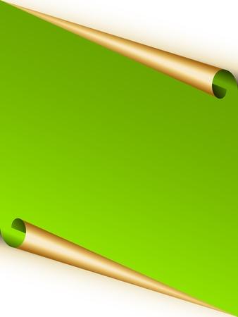 vector blank festive sheet Vector