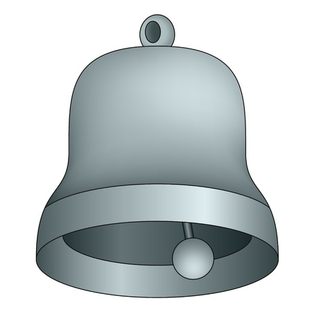 vector bell isolated Vector