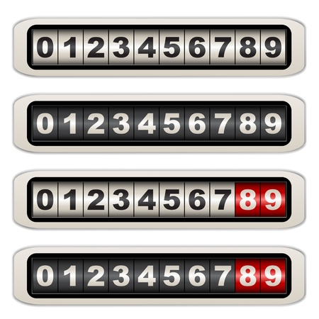 numerical: vector counters Illustration