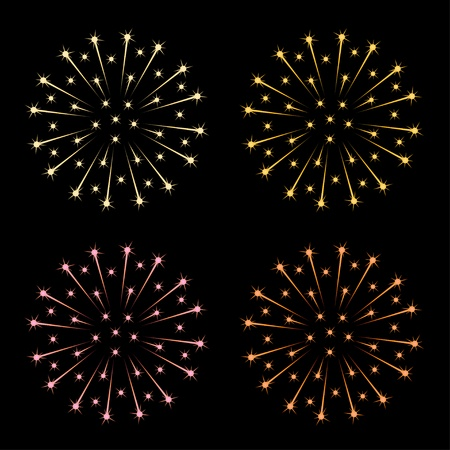 vector fireworks Stock Vector - 11505022