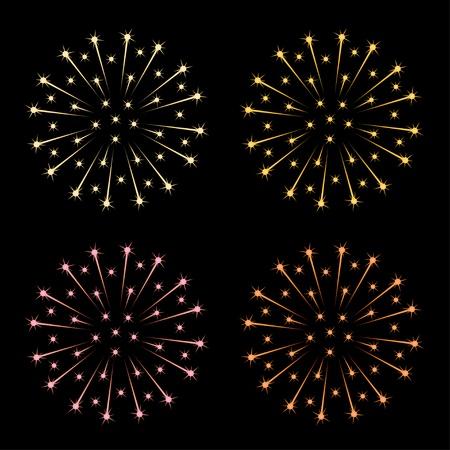 vector fireworks Stock Vector - 11505022
