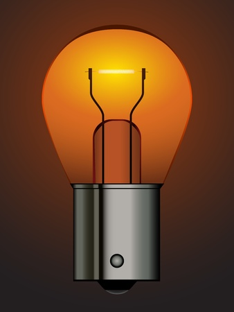 bayonet: vector bayonet car bulb Illustration